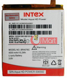 Mobile Battery For Intex Aqua Power HD