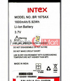 Mobile Battery For Intex Aqua Q1