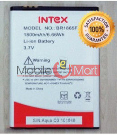 Mobile Battery For Intex Aqua Q3