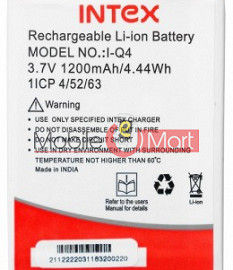 Mobile Battery For Intex Aqua Q4