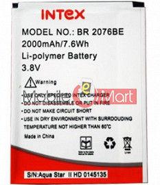 Mobile Battery For Intex Aqua Star II 2 HD