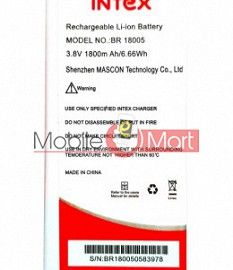 Mobile Battery For Intex BR18005