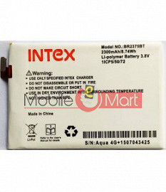 Mobile Battery For Intex Cloud 4G Star