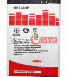Mobile Battery For Intex Platinum 2.8