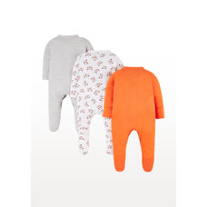 Tiger Sleepsuits - 3 Pack