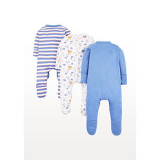 Car Sleepsuits – 3 Pack