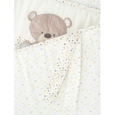 teddy's toy box long cot bumper