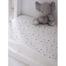 mothercare jersey fitted cot bed sheets - 2 pack
