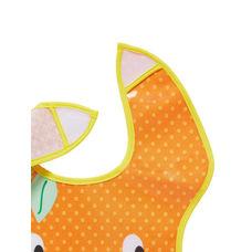 fruit slogan oil cloth toddler bibs - 3 pack