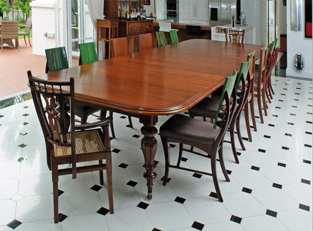 Antique Colonial Dining Table - Kitchen is the Heart of The Home - The Past Perfect Collection - Singapore