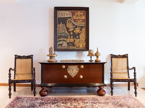 Styled Dutch Colonial Chest - Combining India's Cultural Heritage The Past Perfect Collection - Singapore
