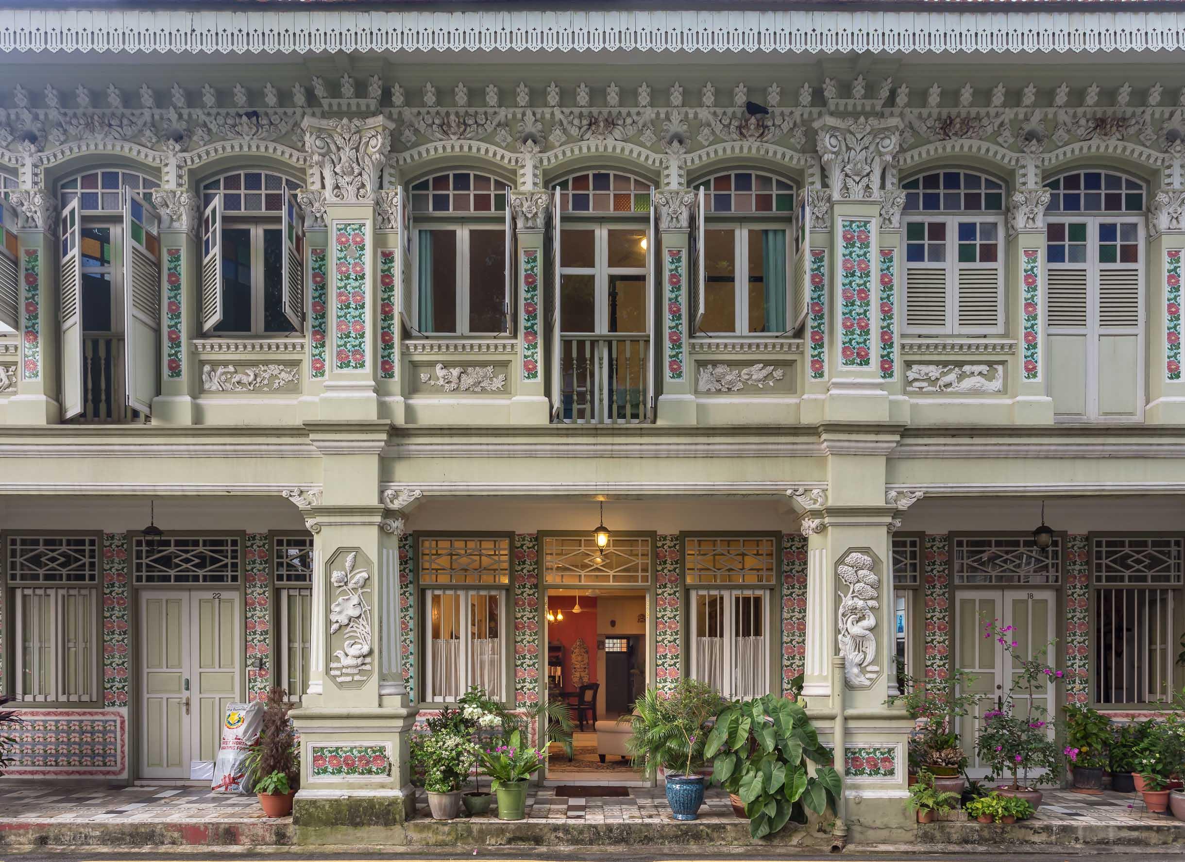 Interiors We love l A Heritage Shophouse l The Past Perfect Collection l Singapore