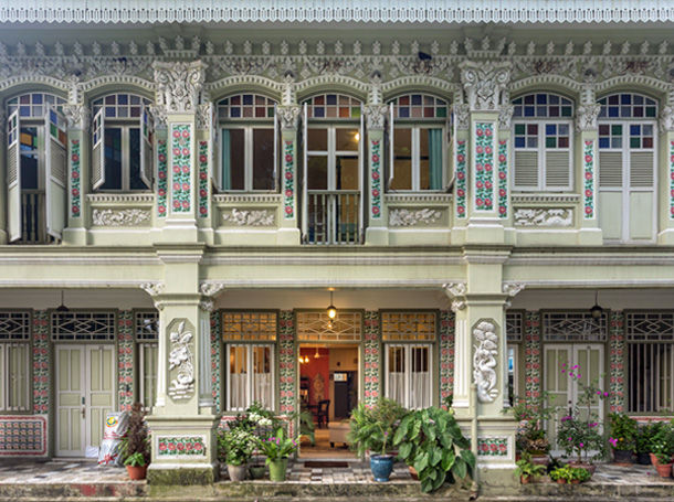 Interiors We love A Heritage Shophouse l The Past Perfect Collection l Singapore