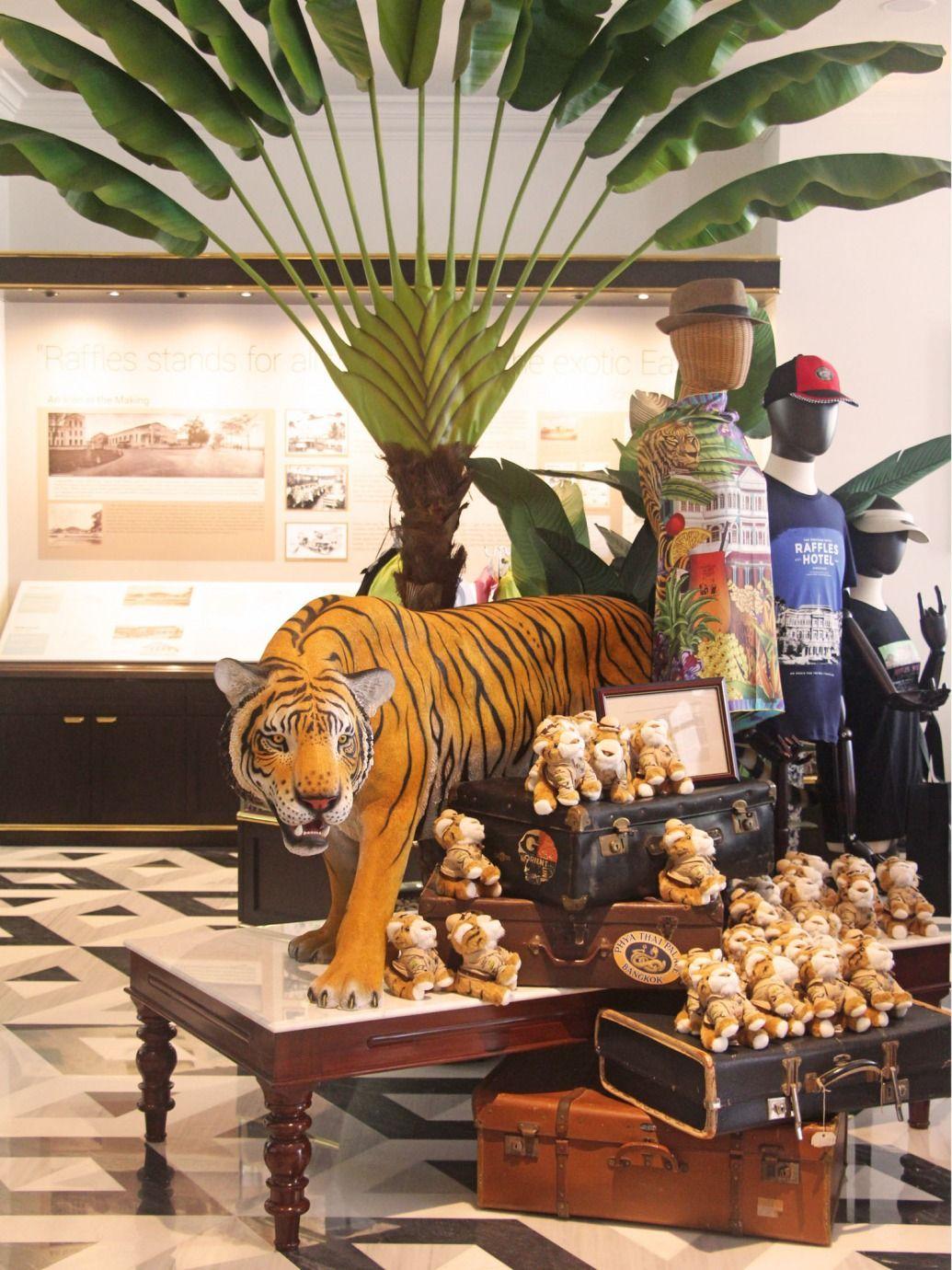 Proud Associate of Raffles Hotel - Raffles Boutique1 l The Past Perfect Collection l Singapore