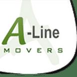 Aline Movers Skip Bins Logo