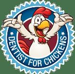 Dentist for Chickens Logo