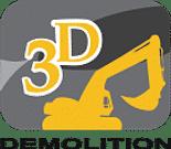 3D Demolition Logo