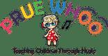 Prue Whoo Educational Music for Kids Logo