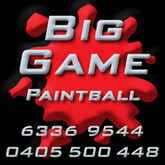 Big Game Paintball Logo