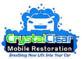 Crystal Clear Mobile Restoration Logo