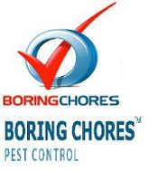 Boring Chores Pest Control Brisbane Logo