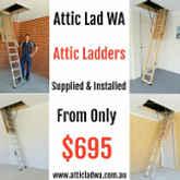 Attic Lad WA Logo