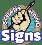 Steady Hand Signs Logo