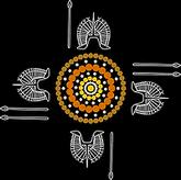 Mujeekah's Inspirational Indigenous Art Logo