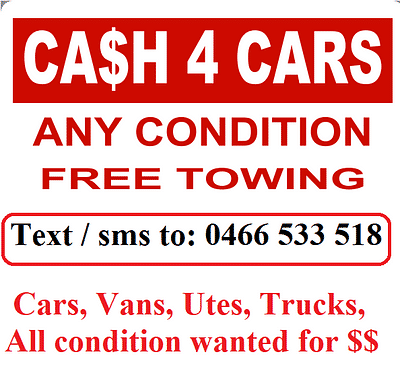 Car removal and cash for cars in Sunshine coast