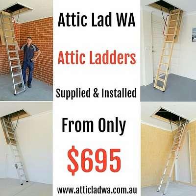 Attic Ladder Installation Company Perth
