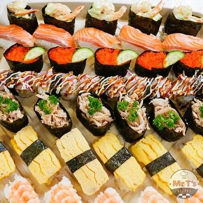 Sushi Is Finger Food and Good For Office Catering