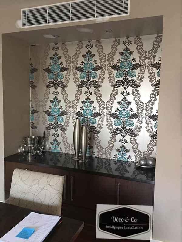 Deco and Co Wallpaper installation - Wallpapering In Saint Kilda 3182