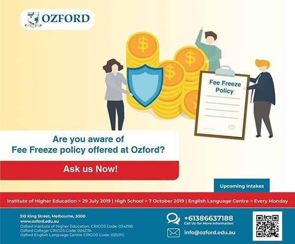 Ozford Australia - Education In Melbourne 3000