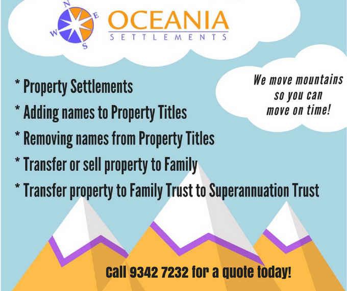 Photo for Oceania Settlements- Legal Services in Koondoola 6064 , Western Australia