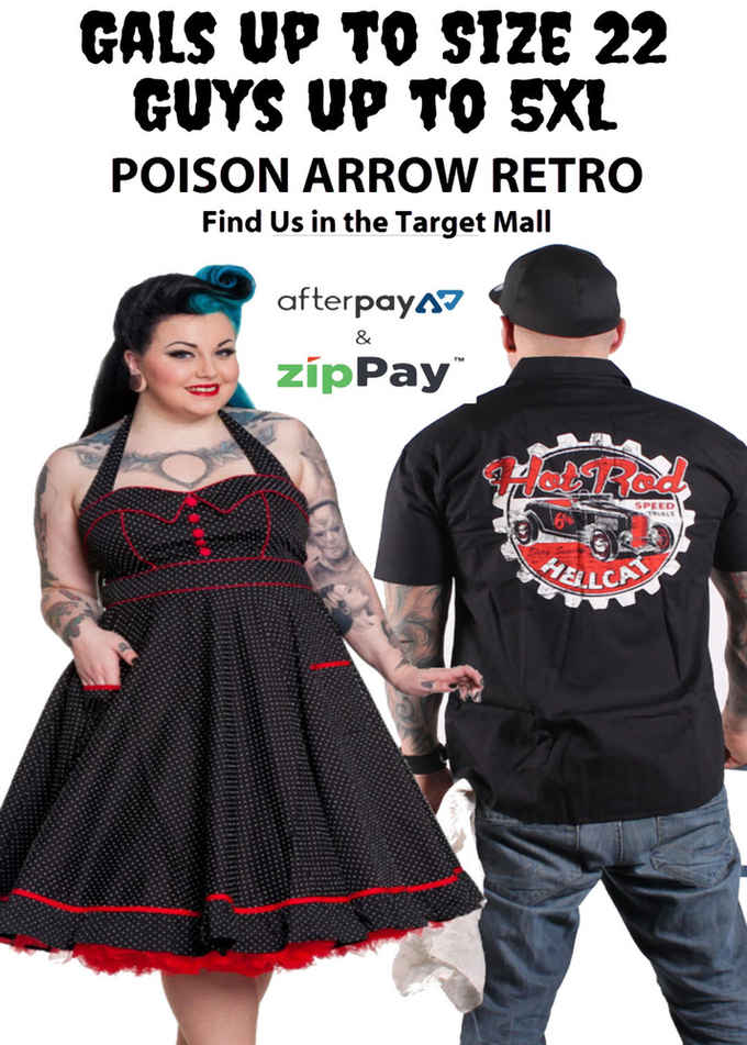 Photo for POISON ARROW RETRO- Clothing Retailers in Ipswich 4305 , Queensland