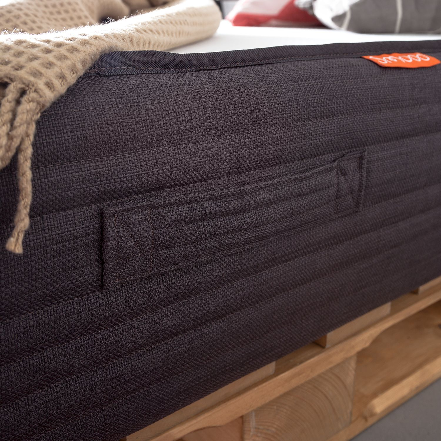 Palletbed Smood, home24