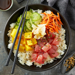 Recipe For Ahi Tuna Poke Bowl 4 4 Stars 675 Reviews