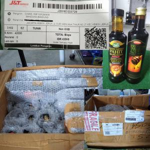 Persiapan packing tim gudang kirim seluruh wilayan Indonesia