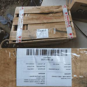 Packing kayu untuk pengiriman antar pulau