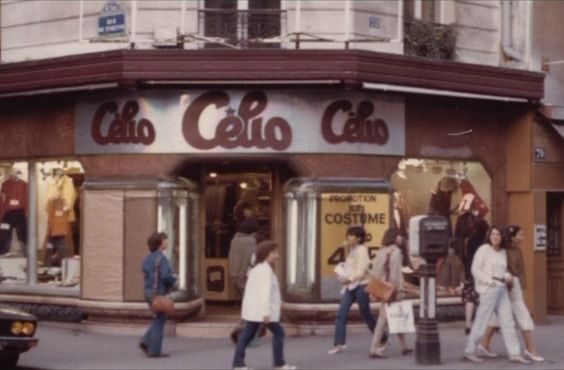 store celio paris 1978
