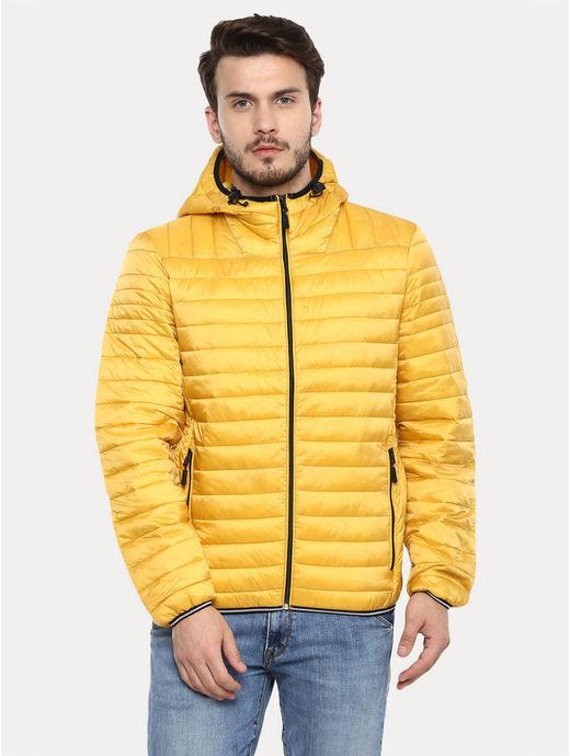 Yellow Solid Jacket