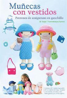 Muñecas con vestidos, Patrones de amigurumi en ganchillo