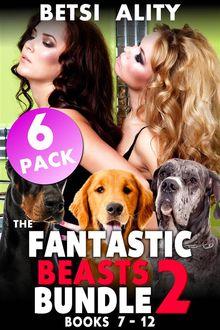 The Fantastic Beasts Bundle - 6 Pack - Books 7 - 12 (Dog Sex Erotica Animal Sex Erotica Zoophilia Erotica Collection Bestiality Beast Taboo XXX Erotica)