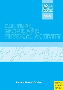 Culture, Sport and Physical Activity