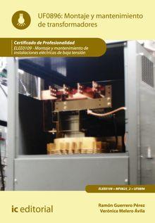 Montaje y mantenimiento de transformadores. ELEE0109