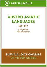 AUSTRO-ASIATIC LANGUAGES SURVIVAL DICTIONARIES (SET 1 OF 1) VIETNAMESE LANGUAGE DICTIONARIES