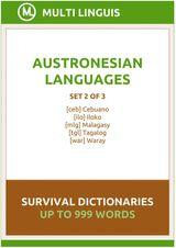 AUSTRONESIAN LANGUAGES SURVIVAL DICTIONARIES (SET 2 OF 3) TAGALOG LANGUAGE DICTIONARIES