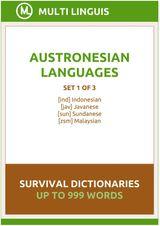AUSTRONESIAN LANGUAGES SURVIVAL DICTIONARIES (SET 1 OF 3) INDONESIAN LANGUAGE DICTIONARIES
