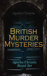 BRITISH MURDER MYSTERIES - AGATHA CHRISTIE BOXED SET