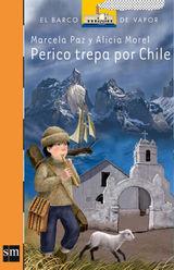 PERICO TREPA POR CHILE EL BARCO DE VAPOR NARANJA